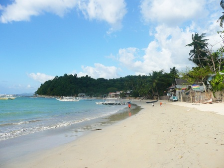 Beach in the Philippines Stock Photo - 12367729