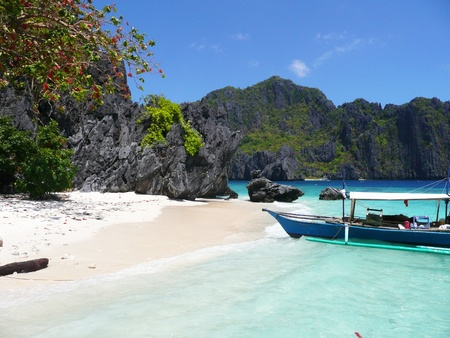 Beach in the Philippines  photo