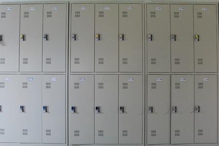 locker room: School lockers, Thailand