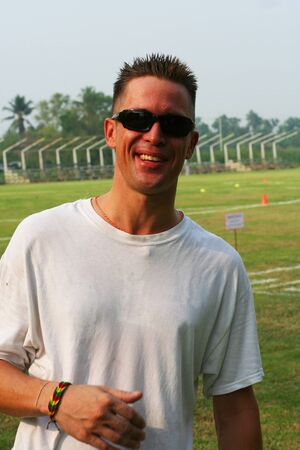 PE teacher in Bangkok, Thailand Stock Photo - 12978731