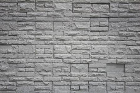 Grey Brick Stone Wall Photo
