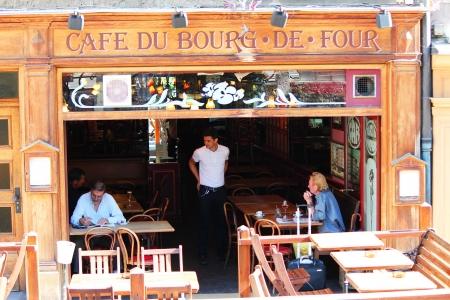 Cafe in Geneva, Switzerland