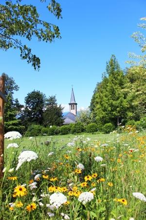 Church in Geneva in rural France Stock Photo - 14683631