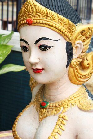 Stone Angel statue in Thailand
