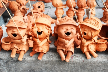Garden figures for sale in Bangkok, Thailand  photo