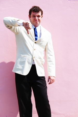 Business man in a white suit in Thailand  Stock Photo - 15451168