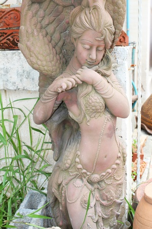 asian angel: Angel statue in Thailand