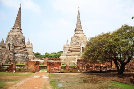 Wat Phra Si Sanphet, Ayutthaya, Thailand  Stock Photo - 15949684