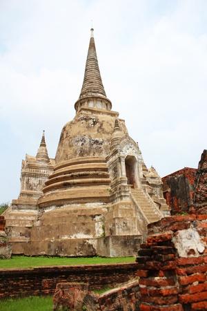 Wat Phra Si Sanphet, Ayutthaya, Thailand Stock Photo - 15949657