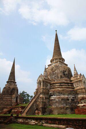 Wat Phra Si Sanphet, Ayutthaya, Thailand  photo