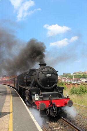 buffers: Steam Engine, Yorkshire, England