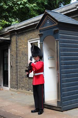 sentry: Guardsman On Duty, London, England