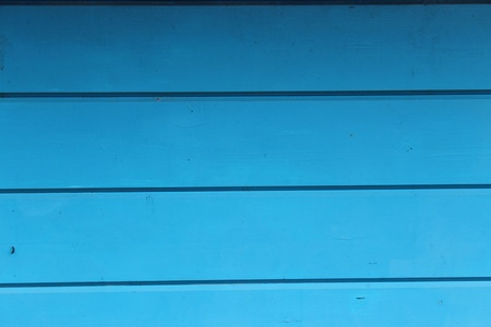 Turquoise Blue Wall, Yorkshire, England  Stock Photo
