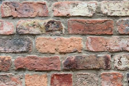 paredes de ladrillos: Pared de ladrillos, Yorkshire, Inglaterra Foto de archivo