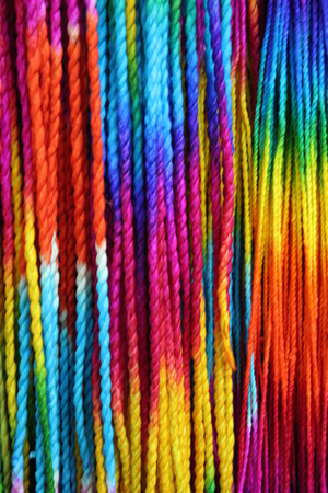 ultramarine: Rainbow Coloured String , Bangkok, Thailand