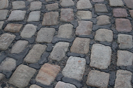 leaden: Quaint Village Sandstone Paving Cobbles, England