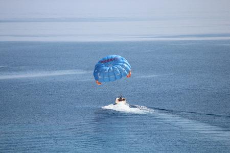 swoop: Parascending In Cyprus.