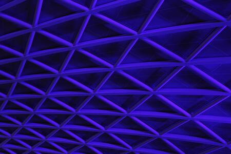 perspectiva lineal: Fondo geom�trico angular Azul, Inglaterra.
