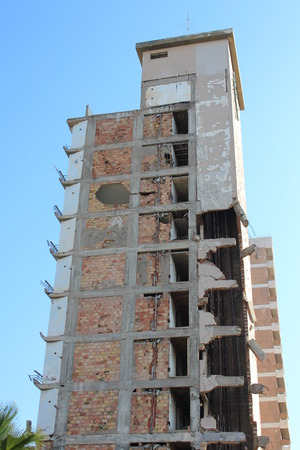 derelict: Derelict Hotel, Famagusta, Cyprus.