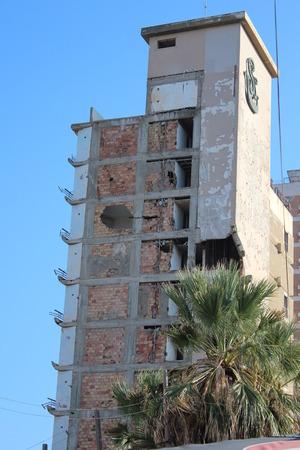 cyprus: Derelict Hotel, Famagusta, Cyprus.