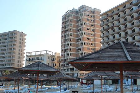 derelict: Derelict Hotels, Famagusta, Cyprus.