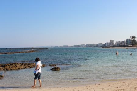 beach resort: Famagusta Beach Resort, Chipre. Editorial