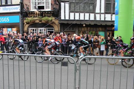 participate: Tour de Yorkshire Event  York England.  2nd May 2015 Editorial