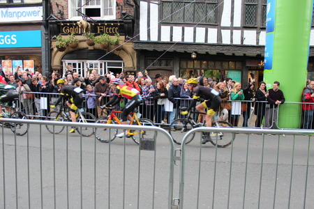 lycra: Tour de Yorkshire Event  York England.  2nd May 2015 Editorial