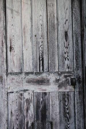outbuilding: BlackGrey WoodGrain Pattern England. Stock Photo