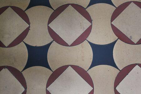 perspectiva lineal: Crema, Tan y Negro Patr�n Regular, Inglaterra.