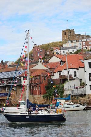 regatta: Whitby Harbour and Regatta Celebrations August 2015
