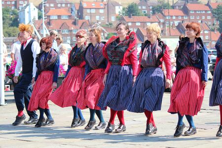 footware: Clog Dancers at Whitby Folk Festival, August 2015.