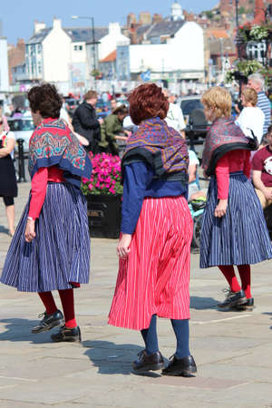 yesteryear: Clog Dancers at Whitby Folk Festival, August 2015.
