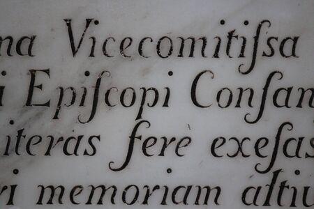 linguistics: Calligraphy. Stock Photo