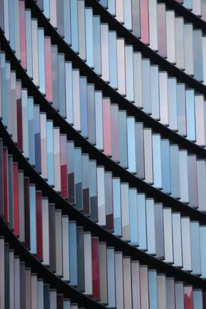 perspectiva lineal: Dise�o abstracto en colores pastel de los rect�ngulos.
