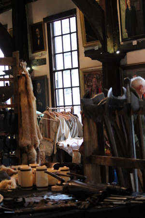 re enactment: Jorvik Viking Festival Market, York February 2016.