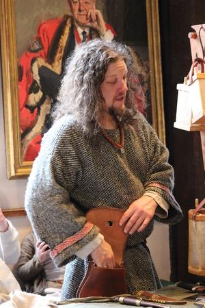enactment: Jorvik Viking Festival Market, York, February 2016 Editorial