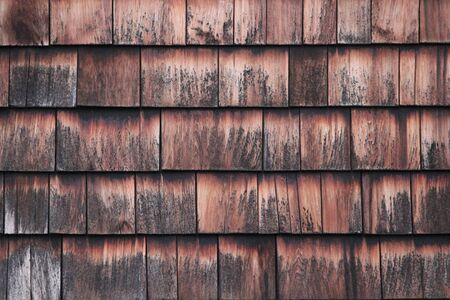 regular: Wooden Squares in Regular Design. Stock Photo