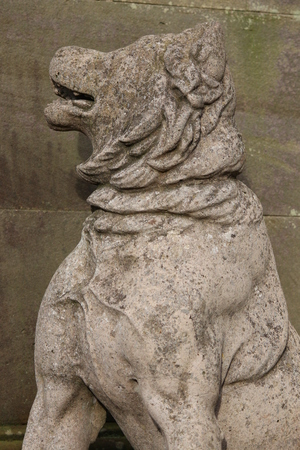 guard dog: Stone Guard Dog, Yorkshire.