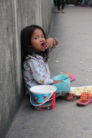 Typical diet third world child