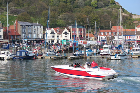 roof profile: EDITORIAL: SCARBOROUGH TOWN AND HARBOUR Visited by British Holidaymakers on the Hottest Days of the Year; SUNDAY 8TH MAY 2016. Editorial