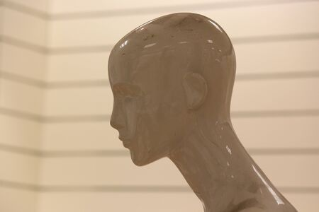 featureless: Mannequin With Egyptian Influence.