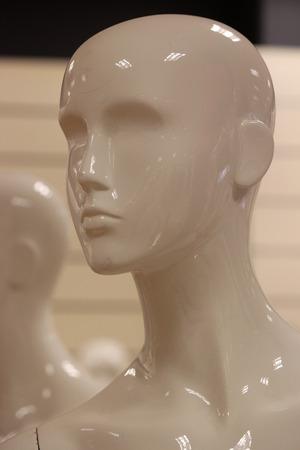 featureless: Female Mannequin. Stock Photo