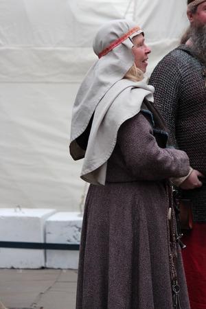 JORVIK VIKING FESTIVAL, YORK, ENGLAND: Sunday 26th February: Viking Re-enactment Society Celebrates Yorks History and heritage With the Biggest Viking Celebration in Europe.