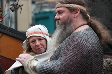 re design: JORVIK VIKING FESTIVAL, YORK, ENGLAND: Sunday 26th February: Viking Re-enactment Society Celebrates Yorks History and heritage With the Biggest Viking Celebration in Europe.
