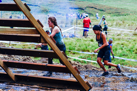 sports race: The Spartan Race is an extreme military style obstacles race where athletes run on hits of 300 participants, resembling the 300 spartan soldiers that fought under command of the legendary greek general Leonidas on the Thermopylae Battle. Competitors climb