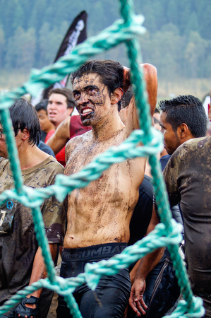 The Spartan Race is an extreme military style obstacles race where athletes run on hits of 300 participants, resembling the 300 spartan soldiers that fought under command of the legendary greek general Leonidas on the Thermopylae Battle.This athete has th Redakční