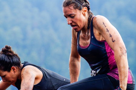 The Spartan Race is an extreme military style obstacles race where athletes run on hits of 300 participants, resembling the 300 spartan soldiers that fought under command of the legendary greek general Leonidas on the Thermopylae Battle. These female athl Editöryel