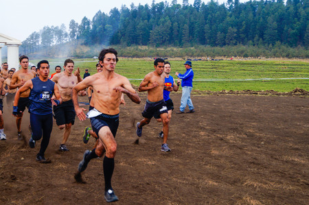 The Spartan Race is an extreme military style obstacles race where athletes run on hits of 300 participants, resembling the 300 spartan soldiers that fought under command of the legendary greek general Leonidas on the Thermopylae Battle. This group of com