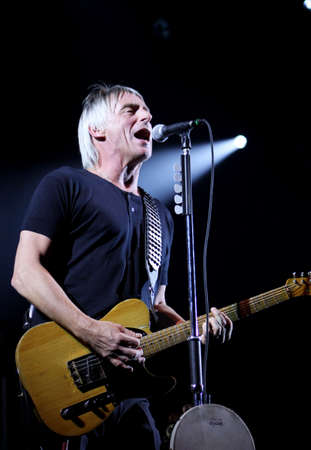 Paul Weller live at the Bournemouth International Centre 28 November 2010 Stock Photo - 8692663